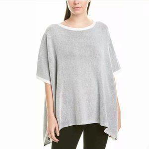 Eileen Fisher Women's Cotton Silk Poncho NWT